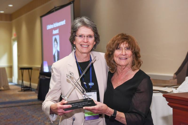 "Dr. Susan Bennett Awarded ""Lifetime Achievement Award"" from the Consortium of Multiple Sclerosis MS Centers"